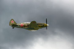 Mig-3 - stary sowiecki wojownik od drugi wojny światowa Obrazy Royalty Free