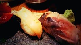 mig sushi Arkivbild