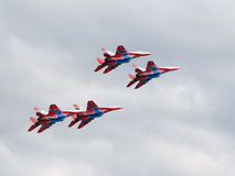 MiG-29 Swifts Royalty Free Stock Photography