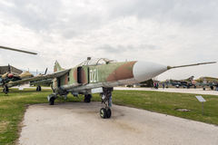 MIG 23 UB Flogger C Jet Fighter Royalty Free Stock Photography