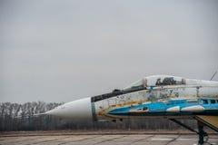 MiG-29 ucraino Immagine Stock