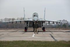 MiG-29 ucraino Immagine Stock Libera da Diritti