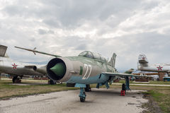 MIG 21 UM b Mongol myśliwiec odrzutowy Zdjęcia Royalty Free