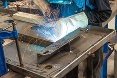 MIG welding Stock Photography