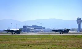 Mig-21 wojownicy goni desantowego pasek fotografia royalty free