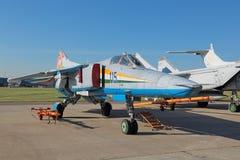 MiG-23 wojownik Zdjęcie Stock