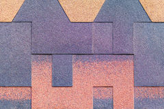 Miga multicolora del yeso de la textura Fotos de archivo