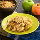 Migaja o patata a la inglesa cocida de Apple imagen de archivo