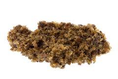 Migalhas de borracha cruas secadas foto de stock