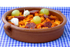 Migas spanish dish Royalty Free Stock Photos