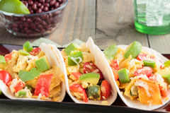 Migas Tacos Royalty Free Stock Photo