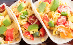 Migas Tacos Royalty Free Stock Photos