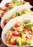 Migas Tacos Stock Image