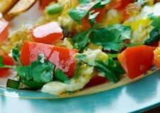 Migas Tex-Mex cuisine Stock Image