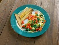 Migas Tex-Mex cuisine Stock Photo