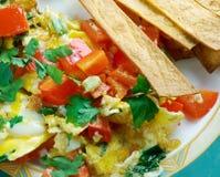 Migas Tex-Mex cuisine Stock Images