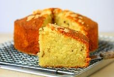 Migdałowy masło tort Obraz Royalty Free