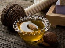 migdałowy olej Obrazy Stock