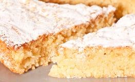 Migdału tort obraz stock