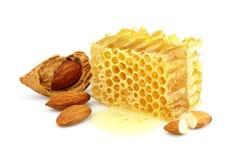 migdałów honeycombs Obraz Stock