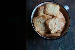 Migdałowy ciastko Fotografia Stock