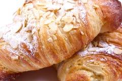 Migdałowy croissant Obrazy Stock
