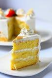Migdałowy karmelu tort Obraz Royalty Free