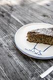 Migdałowy limoncello tort Zdjęcia Royalty Free