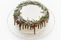 Migdałowy marchwiany tort zdjęcie stock