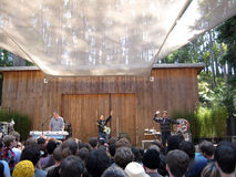 They Might Be Giants preforms at Stern Grove Stock Image