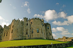 Might of the castle Stock Photography