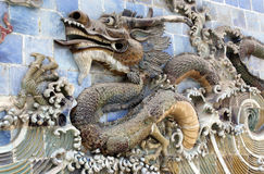 The mighty Chinese Dragon Royalty Free Stock Photography