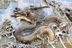 The mighty Chinese Dragon Royalty Free Stock Images