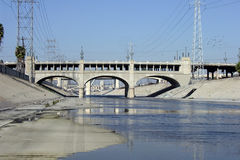 Mighty Dirty LA River. The mighty LA river.  Home to many questionable animals Stock Photography