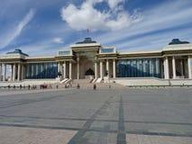 Mighty Dzjengis Khan, still the leader of Mongolia Royalty Free Stock Photo
