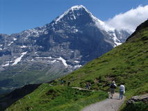 The Mighty Eiger Stock Photography