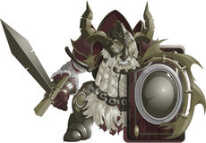 Mighty fantasy dwarf Royalty Free Stock Photography