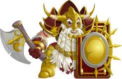 Mighty fantasy dwarf Royalty Free Stock Photo