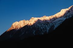 Mighty Himalayas at dawn Stock Images