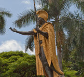 Mighty King Kamehameha, Honolulu, Hawaii Royalty Free Stock Photography