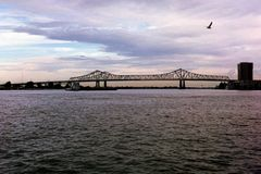 The Mighty Mississippi stock photo