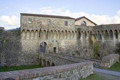the mighty Pisan Fortezza Firmafede in Sarzana Stock Image