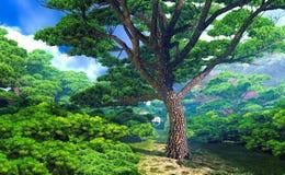 Mighty tree Royalty Free Stock Photography