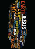 Mighty Warrior Crushed Enemy Text Background Word Cloud Concept Stock Photography