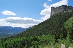 The Mighty Yamnuska Royalty Free Stock Image