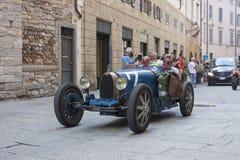 1000 Miglia 2015, διάσημη φυλή αυτοκινήτων Italys Στοκ Εικόνες