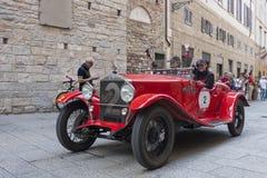 1000 Miglia 2015, διάσημη φυλή αυτοκινήτων Italys Στοκ Εικόνα