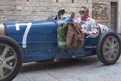 1000 Miglia 2015, διάσημη φυλή αυτοκινήτων Italys Στοκ φωτογραφία με δικαίωμα ελεύθερης χρήσης