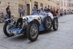 1000 Miglia 2015, διάσημη φυλή αυτοκινήτων Italys Στοκ Φωτογραφίες