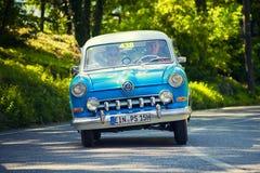 1000Miglia ιταλική ιστορική εκλεκτής ποιότητας φυλή αυτοκινήτων Στοκ Εικόνα